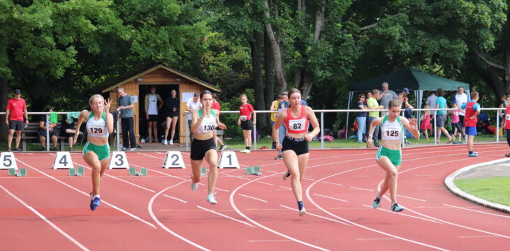 Kreiseinzelmeisterschaften in Helmsheim 24.07.2021
